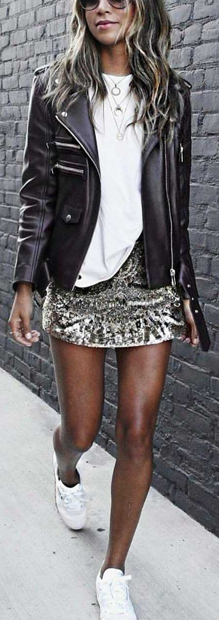 Leather Jacket, Jackets, Fashion,
