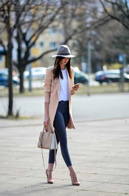 Street , Fashion, Outfit, Street, Grey Coat, Street, Coats, Blog, İnspiration