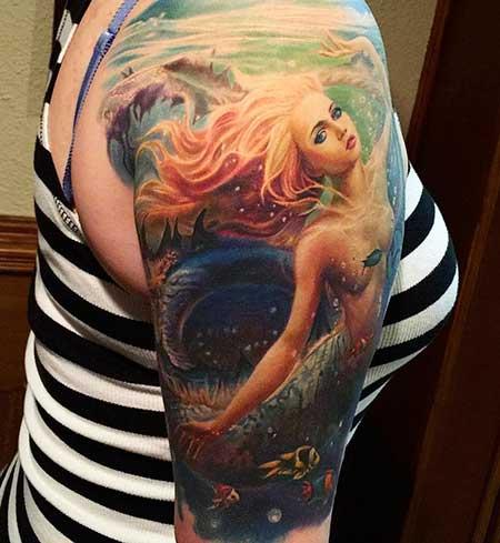Tattoos Mermaid Sleeve - 10