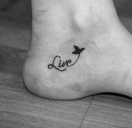 Small Tattoos Small Simple Foot - 11