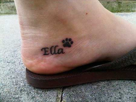 Tattoos Small Simple Foot