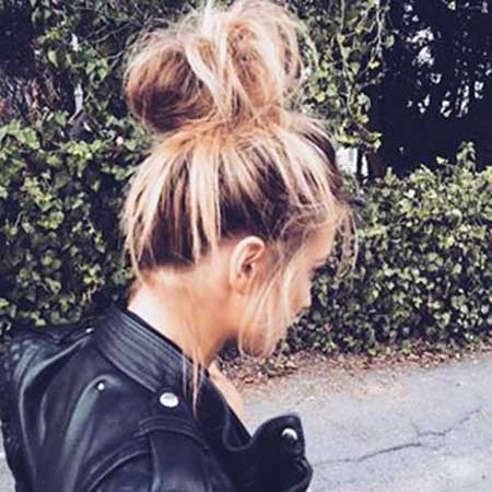 10 Big Messy Bun Hairstyles You Have to See