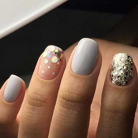 Nails 2017, Nail Art 2017 , Nail Design, Simple Nails 2017, Nail Idea, Art, Manicures, Nailart, Short Nails 2017, Wedding Nails 2017