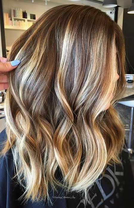 Balayage, Highlights, Idea