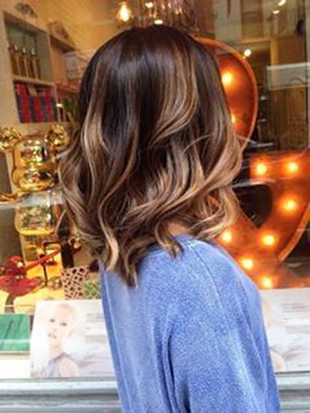 Balayage, Ombre, Highlights, Ombre