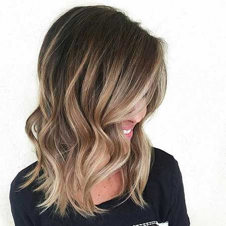 Balayage, Medium Lengths, Balayage , Highlights