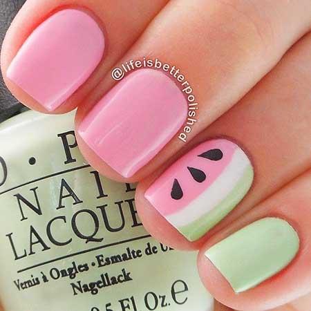 Cute Nail Designs 2017 Summer - 25 Cute Pink Nail Art 2017 - Styles 2017