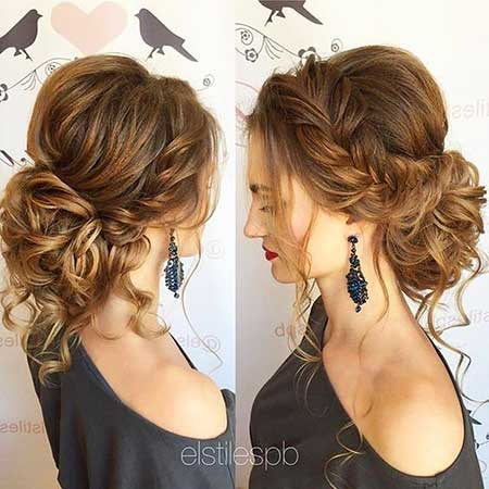 10 big messy bun hairstyles you have to see 7 messy low updo for long hair urmus Gallery