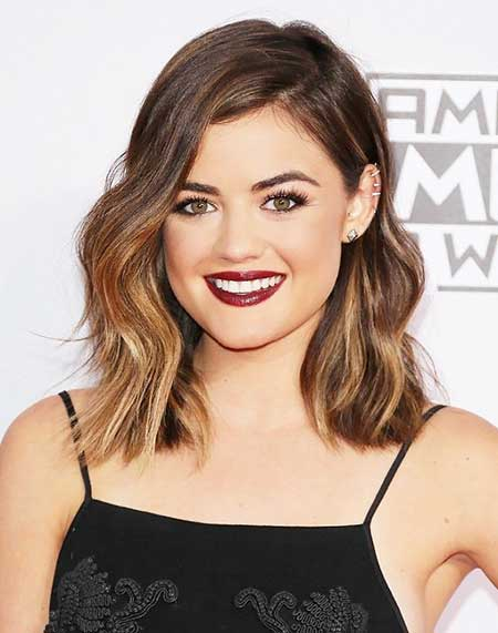 Lucy Hale, Hale, Lucy, Long Bob, Beautiful