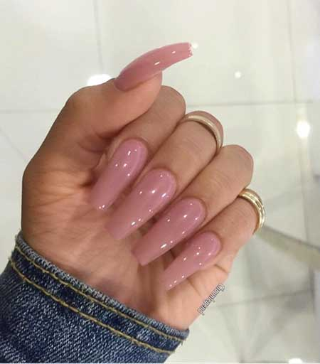 30 acrylic nail designs for winter styles 2017 14 long acrylic nails clear nail design prinsesfo Images