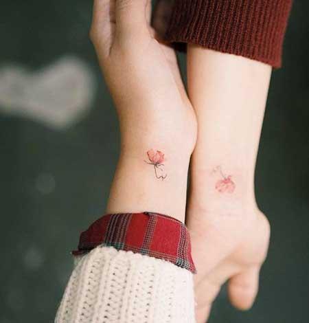 Small Tattoos Flower Small Wrist - 14