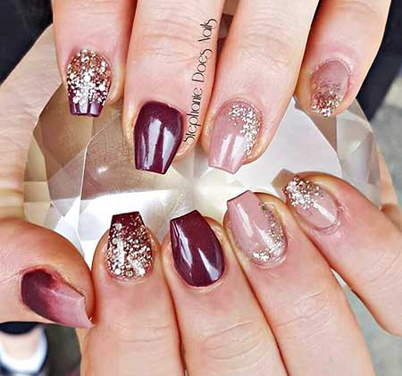 Nail Design, Nail Art 2017, Acrylic, Nail Idea, Art, Nailart, Glitter, Glitter Nail