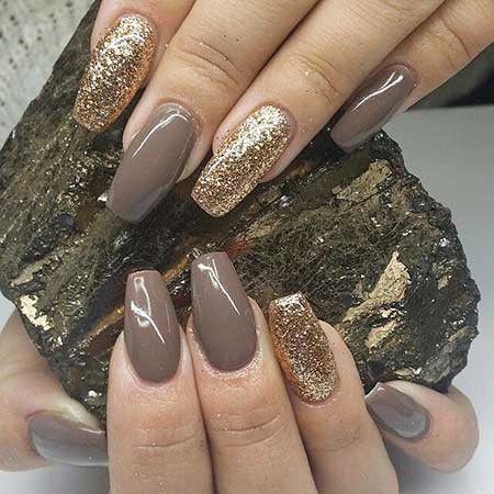 30 Glitter Acrylic Nails Coffin Nail Design