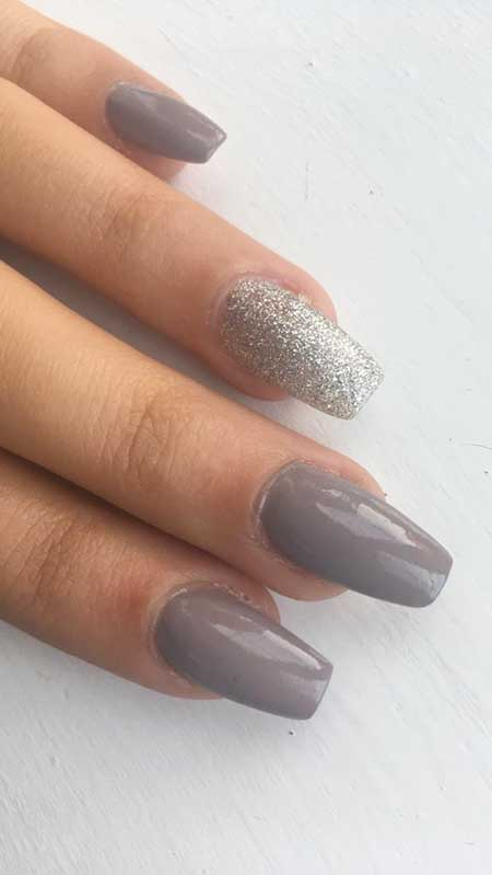 30 Acrylic Nail Designs for Winter - Styles 2017