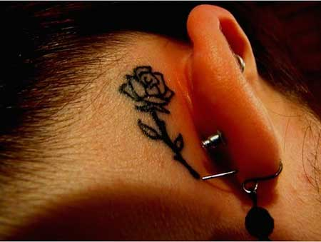 Small Tattoos Flower Small Rose 2017 - 36