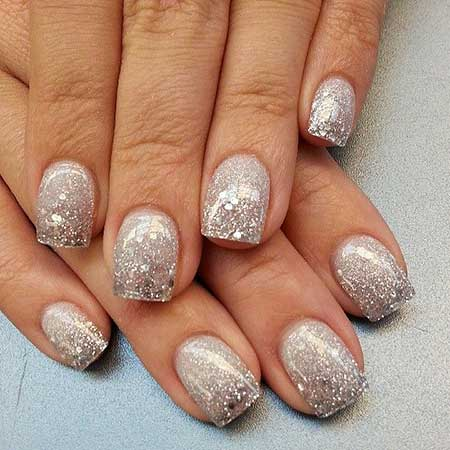 30 acrylic nail designs for winter styles 2017 new years nail deas glitter glitter nail nail design nail art 2017 nail idea polish prinsesfo Gallery