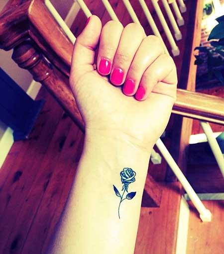 Tattoos Flower Small Wrist
