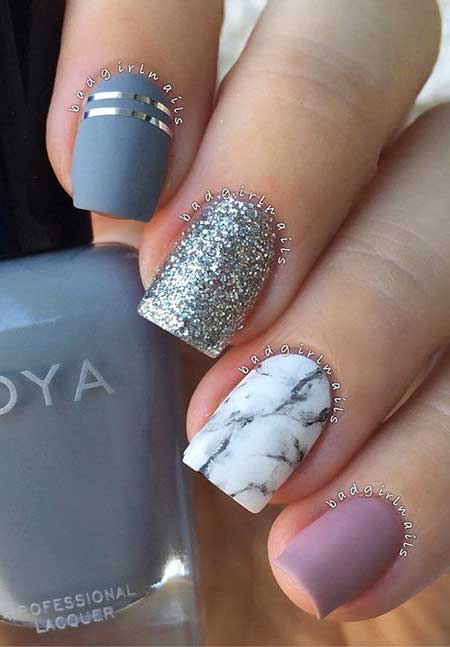 30 Acrylic Nail Designs For Winter