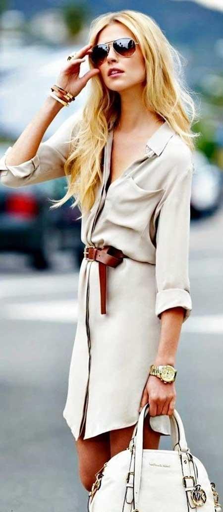 Casual Fashion Dresses Casual Classy - 9