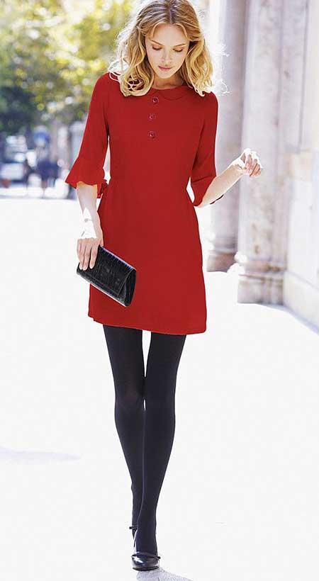 Fashion dress for winter 2018