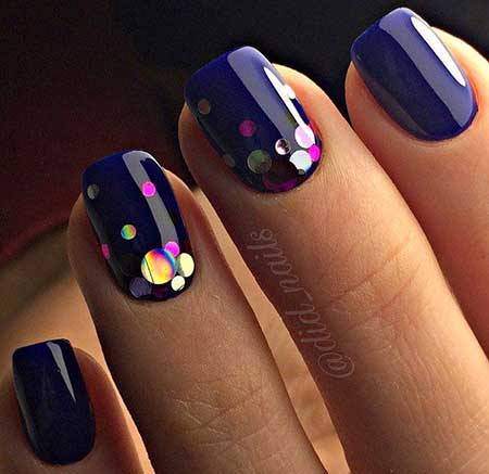 Nails 2017, Nail Design, Nail Art 2017 , Polka Dots, Matte Nail, Dots, Dot Nail, P