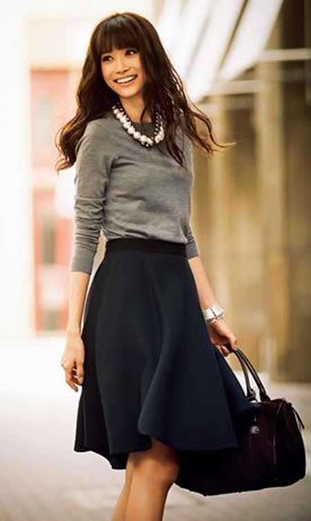 Skirts, Sweaters, Fashion, Work Outfit, Black Skirts, Outfit, Sleeve, Tops, Dresses