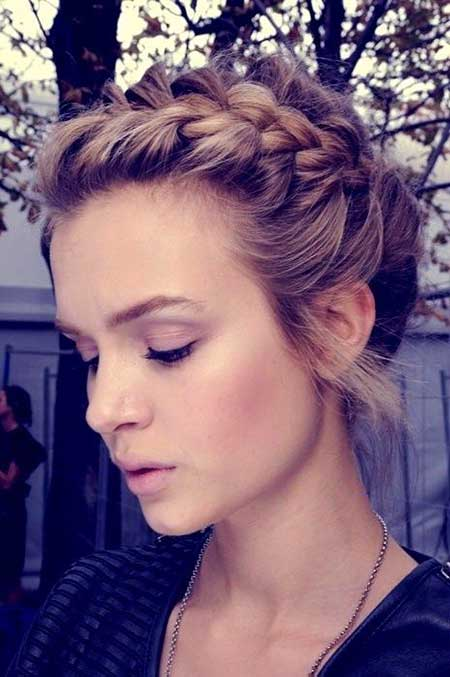 Braids, French Braid, Crown Braid, Idea, Braided, Updo, Wedding