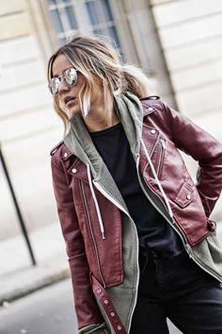 Leather Jacket, Street , Jackets, Fashion, Leather, Outfit, Biker