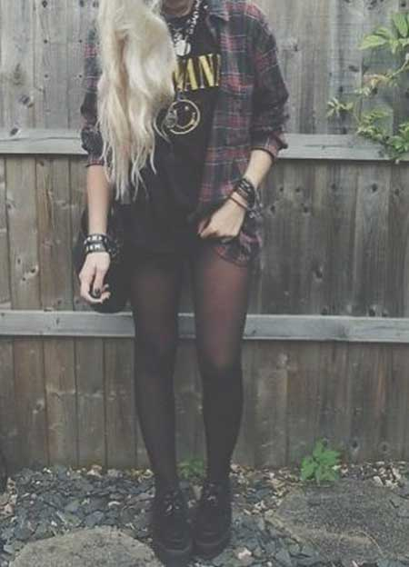 Fashion, Outfit, Street, Grunge, Clothing, Leather Jacket, Fall Outfit, Fall