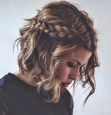 , Braid, Braids, Side Braid, Idea, Short, Bob, Medium