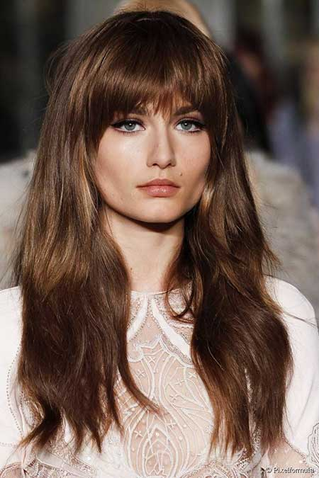 Bangs, Long , Fringes, Idea