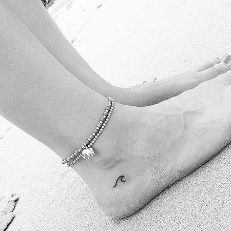 Small Tattoos Small Simple Foot
