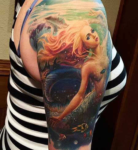 Tattoos Mermaid Sleeve - 10