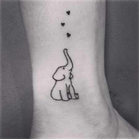 Simple Tattoos Small Simple Ideas - 11