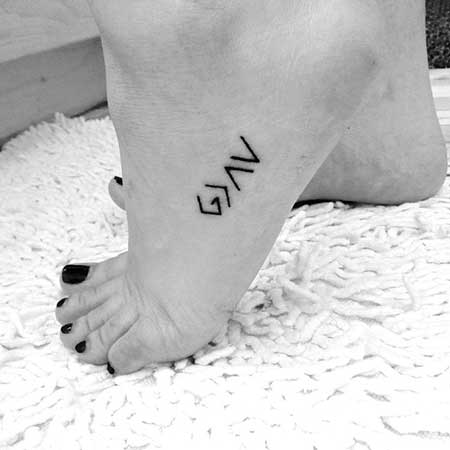 Small Tattoos Small Simple Foot 2017