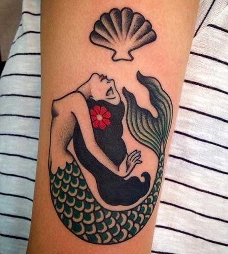 Tattoos Mermaid Sleeve