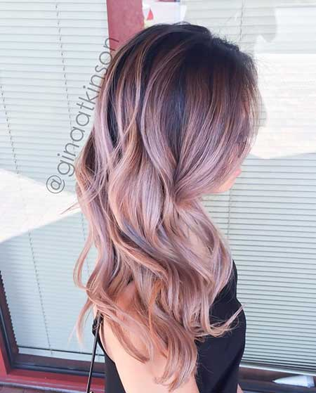 Rose Gold Balayage Hair Find Your Perfect Hair Style