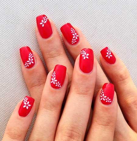 Nails 2017, Nail Art 2017 , Nail Design, Red, Art, Red Nails 2017, Valentine Nail, Christmas Nails 2017, Nailart, Manicures