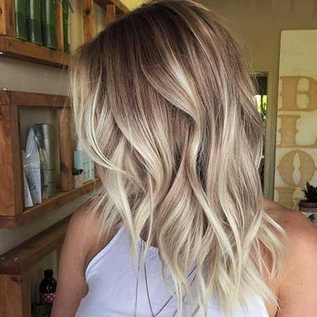 25 New Medium Balayage Shoulder Length Hair Styles 2018