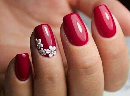 Nails 2017, Nail Art 2017 , Nail Design, Red Nails 2017, Art, Red, Valentine Nail, Manicures