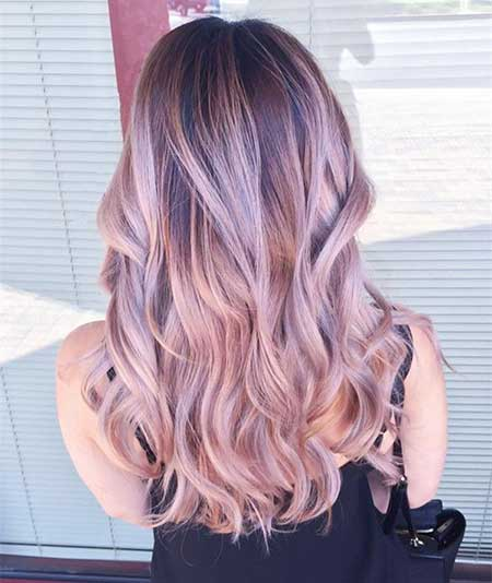Colour, Ombre, Wig, Pink