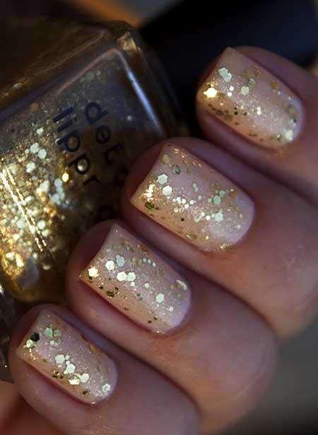 Nails 2017, Glitter Nail, Gold Sparkle, Gold Nail, Glitter, Nail Art 2017, Nail Design, Sparkle, Gold Glitter