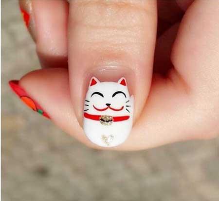 Nail Art 2017, Nail Design, Art, Kitty Nail, Bird Nail, Angry Birds, Christmas, Kitty, Hello Kitty