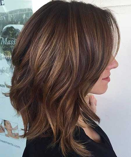 Highlights, Balayage, Brown