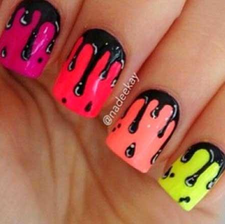 Nail Design, Nail Art 2017, Watermelon, Art, Nail Idea, Pink, Watermelon, Print Nail