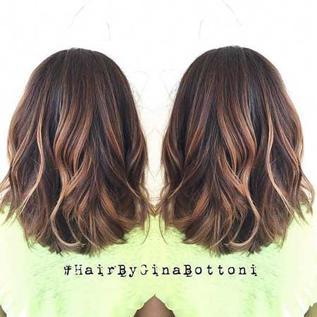 Balayage, Highlights, Ombre, Brunettes