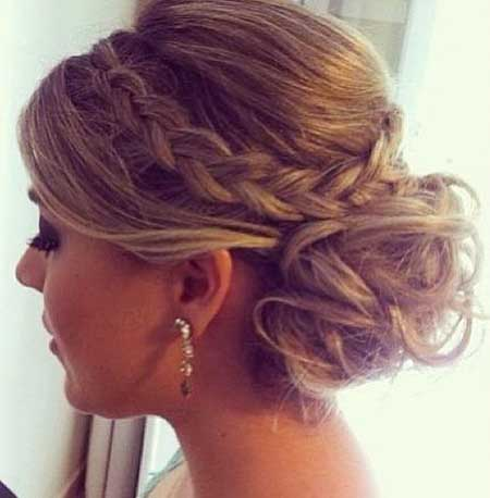 24 Best Braided Updo Prom Hairstyles Styles 2018
