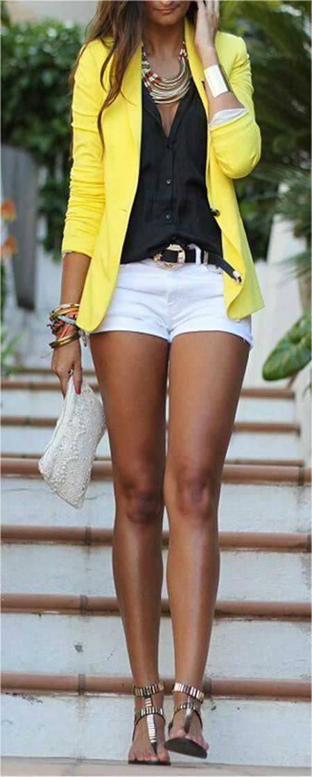 Fashion, Outfit, Yellow, Summer Outfit, Pink , Clothing, Waisted , Long Sleeve