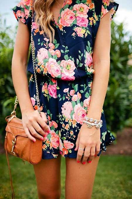 Floral, Floral Prints, Rompers, Dresses, Floral Romper, Fashion, Summer Outfit, Floral Dresses, Outfit