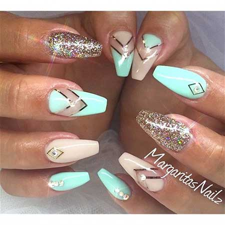Nail Design, Nail Art 2017, Stiletto, Coffin, Nailart, Margaritasnailz, Nail - Acrylic Nails Spring Designs 2017